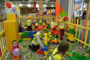 Детская развивающая строительная площадка