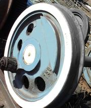 Продам колесные пары ТЭМ-2 в любом количестве.